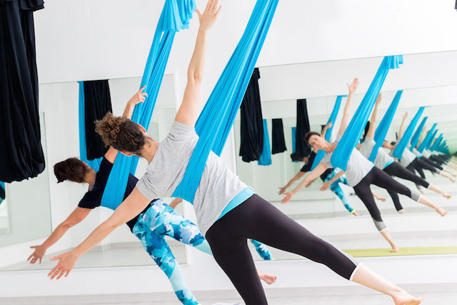 Exercise and What It Does for Your Heart—Aerial Yoga