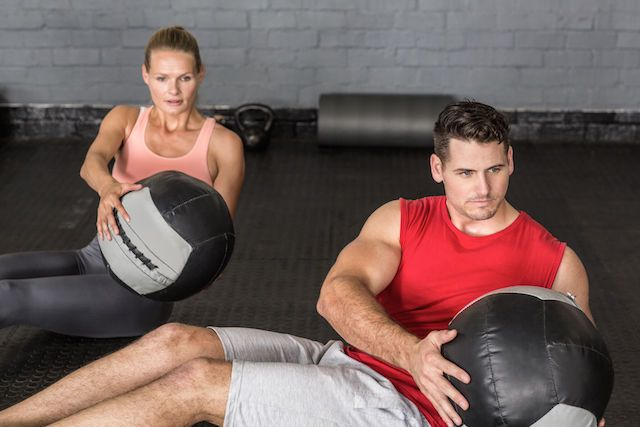 Exercise and What It Does for Your Health—Medicine Ball Workouts